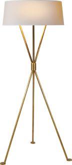 Suzanne Kasler / Circa Lighting Thornton floor lamp (antique brass). $630