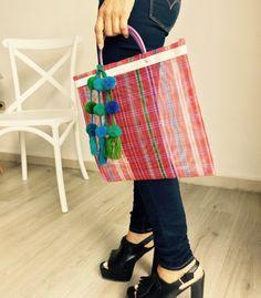 Sabucan mexicano, morral, bolsa artesanal, resistente, hecho a mano. bolso de…