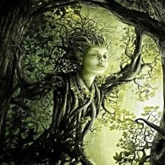 Delightful Dryad Daria of Hidden Beauty and Secret Worlds Hidden Beauty, Spirited Art, Magick, World, Google Search, Witchcraft, The World