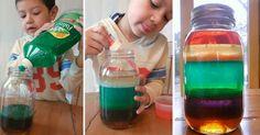 Vědecký experiment pro děti – jak vyčarovat duhu