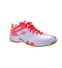 03e709641ad8d9 Yonex SHB 02LX Ladies Court Shoe (Coral Orange