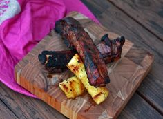 Pineapple Ribs: chili, pineapple and garlic infused bbq ribs-ready in a jiffy