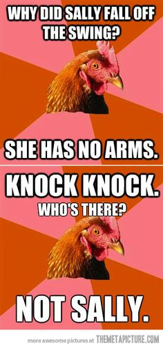 Anti-Joke Chicken's double shot