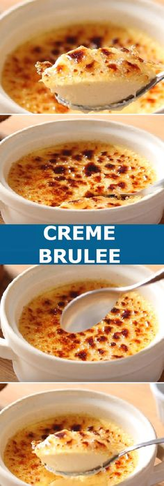 Easy Desserts, Delicious Desserts, Dessert Recipes, Easy Cooking, Cooking Recipes, Creme Brulee Cheesecake, Cream Brulee, Bakery Cafe, Sweet Recipes