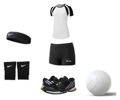 """""""Volleyball Game"""" by danceforeverdaiamond on Polyvore featuring interior, interiors, interior design, home, home decor, interior decorating, NIKE and adidas"""