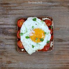 Tartinki365: Tartine 358. Rye Bread, Bread N Butter, Roasted Tomatoes, Arugula, Avocado Toast, Sprouts, Eggs, Stuffed Peppers, Breakfast