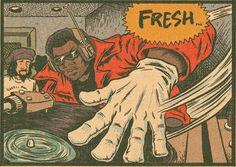 The Creator of 'Hip Hop Family Tree' Talks Rap History and Comics Hip Hop 90, Mode Hip Hop, Rap History, History Of Hip Hop, Photographie Street Art, Arte Do Hip Hop, Arte Dope, Comic Panels, Hip Hop Artists
