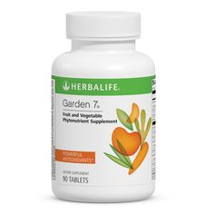 Consuming phytonutrients found in fruits and vegetables each day is difficult. Just one Garden 7 tablet three times a day allows the body to get important nutrition needed for optimal health. Buy Herbalife, Herbalife Nutrition, Herbalife Products, Dark Chocolate Nutrition, Chocolate Slim, Nutrition Chart, Food Nutrition, Nutrition Education, Health Products