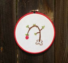 Charlie Brown Christmas Tree on Sew Technicolor