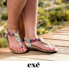 Para los momentos de playa o piscina, también tenemos pensado algo para ti ...  ⏩http://bit.ly/EXE-sandalia-PLAYA-fantasia #exeshoes #exeshoes_spain