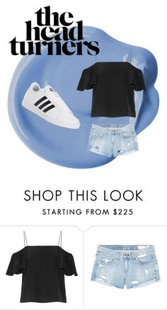 """The Head Turners"" by lilyisasavage ❤ liked on Polyvore featuring Fendi, rag & bone/JEAN, adidas, look, beautiful, fabulous, MyStyle and polyvorefashion"