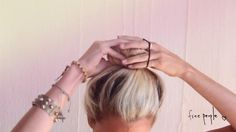 Easy Bun Tutorial: 3 Quick Tricks! by FreePeople. FP Girls Mandi, Kristina, and Carly show how they do their signature buns!