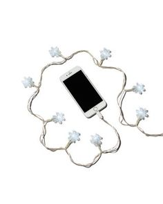 DCI Snowflake LED iPhone Charger | Bloomingdale's
