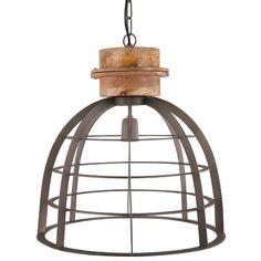 Hanglamp Ingmar hangt mooi in een modern of industrieel ingericht huis. Klein: 35 cm, Groot: 45 cm.