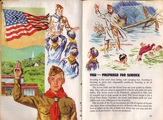 I find this old 1965 Boy Scout Handbook so fascinating that it's hard to choose which pages to scan for you, but here's a selection from cover to cover. Click and zoom for a closer look. Love My Boys, My Love, Eagle Project, Eagle Scout, Cub Scouts, Eagles, Cubs, Badge, Clip Art