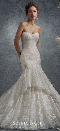 106 best Trumpet Wedding Dresses images on Pinterest | Alon livne ...