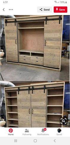 Closet organization diy bedroom drawers 57 New Ideas Craft Room Closet, Closet Bedroom, Bedroom Storage, Diy Bedroom, Diy Storage, Closet Storage, Storage Ideas, Bedroom Drawers, Wood Storage