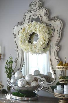 Kelley Nan: DIY: Easy Spring Hydrangea Wreath