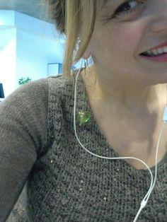 Me...at work!