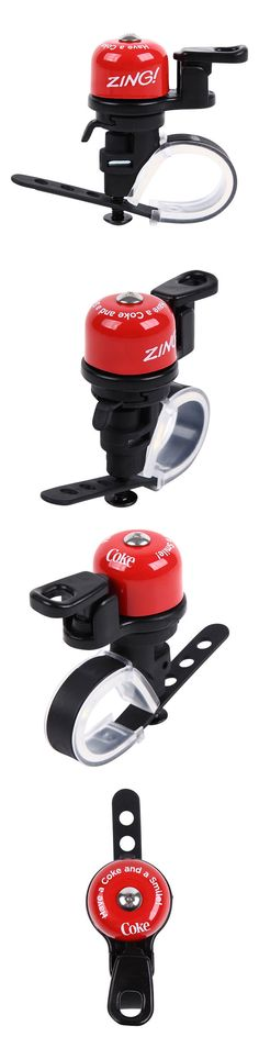 Bells and Horns 123474: Coca-Cola Bicycle Bell Zing Red -> BUY IT NOW ONLY: $38 on eBay!