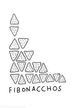 A little maths humour based on the Fibonacci sequence 1, 1, 2, 3, 5, 8, 13, 21...