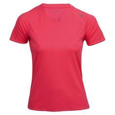 max-Q.com Basic Running Shirt Laufshirts Damen