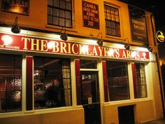 London pubs: The Bricklayer's Arms