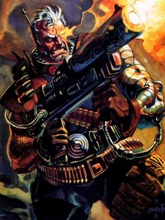 Cable - 1993 Marvel Masterpieces by Skybox