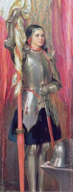Joan of Arc, c. 1890, Theodore Blake Wirgman - Belgian by birth , worked in England.