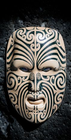 Maori Wood Carving, Auckland, New Zealand