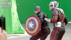 Go Behind the Scenes of Captain America: Civil War (2016)    Pinterest & Tumblr: aloraphernelia