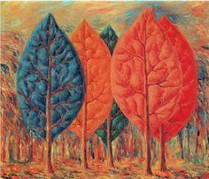 René Magritte - Artist XXè - Surrealism - The fire Rene Magritte, Artist Magritte, Wassily Kandinsky, Conceptual Art, Surreal Art, Magritte Paintings, Paul Gauguin, Minimalist Art, Beautiful Paintings