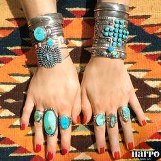 Harpo Bijoux © #braceletturquoise #bagueturquoise #bijouxamérindiens