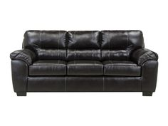 Check out the deal on Austin Chocolate Leather-Look Sofa at Rothman Furniture
