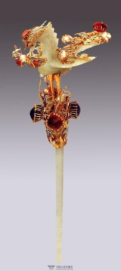 Hairpin that belonged to Myeongseong, the last queen of Joseon, Korea.