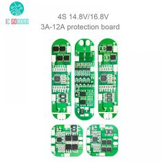 3A 6A 10A 12A 4S 18650 Lithium Battery Protection Board 4 Cells 14.8V 16.8V Li-ion Lipo Pack Charge Discharge Circuit BMS PCM  Price: 152.35 & FREE Shipping #computers #shopping #electronics #home #garden #LED #mobiles #rc #security #toys #bargain #coolstuff |#headphones #bluetooth #gifts #xmas #happybirthday #fun Natural Disasters, Chara, Circuit, Electronics Gadgets, Tech Gadgets, Consoles, Free Shipping, Game, Key