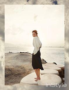 'InStyle Korea' February 2015 | 공효진 Gong Hyo Jin