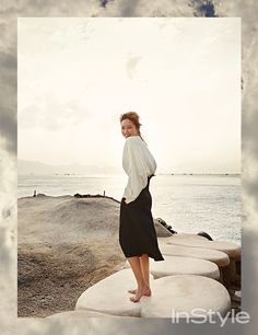 'InStyle Korea' February 2015 | 공효진 Gong Hyo Jin