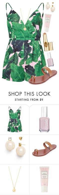 """""""going to be more active now☀️"""" by abbytapp ❤ liked on Polyvore featuring Tory Burch, Kate Spade and Benefit"""