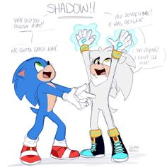 Donuts and Sushi — When your older version tells you not to levitate... Shadow The Hedgehog, Sonic The Hedgehog, Hedgehog Movie, Silver The Hedgehog, My Little Pony Twilight, Mlp My Little Pony, Sonic 25th Anniversary, Sonic The Movie, Sonic Underground