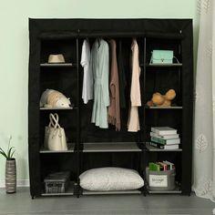 Portable Wardrobe Closet, Diy Wardrobe, Wardrobe Storage, Wardrobe Design, Clothes Storage, Wardrobe Ideas, Closet Storage Systems, Closet Organization, Cupboard Storage