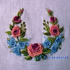 Hardanger Embroidery Design New Brazilian Embroidery Patterns Surface Embroidery Linen Brazilian Embroidery Stitches, Types Of Embroidery, Learn Embroidery, Rose Embroidery, Embroidery Needles, Embroidery Thread, Embroidered Roses, Embroidery Designs, Embroidery Supplies