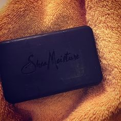 SheaMoisture's soothing body bar soap is specially formulated with organic Shea Butter, Oats and Aloe to cleanse, moisturize and comfort irritated skin while absorbing excess oil. African Black Soap, an honored beauty secret, made from palm ash, tamarind extract, tar and plantain peel, helps to calm and clear blemishes and troubled skin. (photo by @thebrowgod).