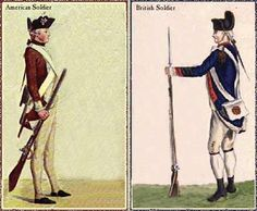 The Revolution: The Differences Between American and British Soldiers (C3, W3-W5)