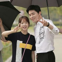 Jo Jung Seok .. Park bo young .. oh my ghost ❤❤