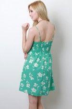 can't it be longer....Flower Silhouette Dress