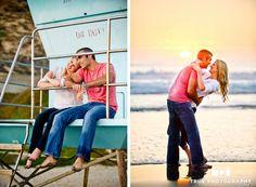 solana beach lifeguard station couple