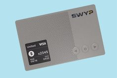 Sync all of your credit cards with Swyp.