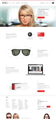 Ditto.com Home Landing Page