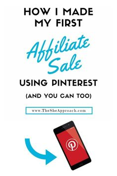 Struggling to make money blogging? Use affiliate marketing and your Pinterest traffic to make some cash.